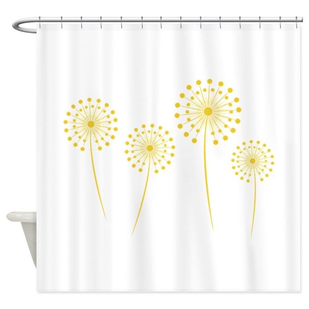 Dandelions Shower Curtain By Windmill Shower Curtain Shower