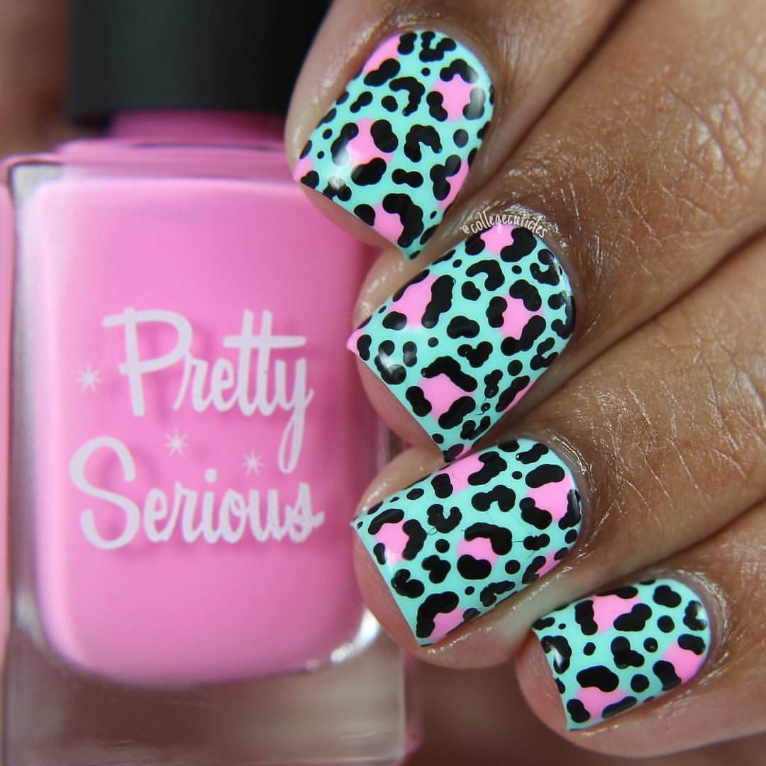 Amazing Leopard Print Design From Collegecuticles Using Fluffykins
