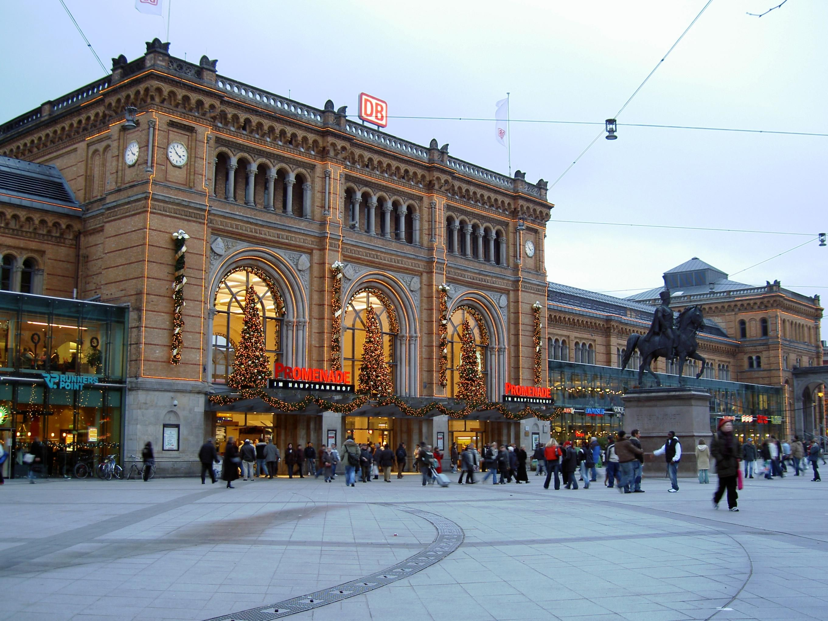 Hannover Hauptbahnhof Germany Hannover, Stadt hannover