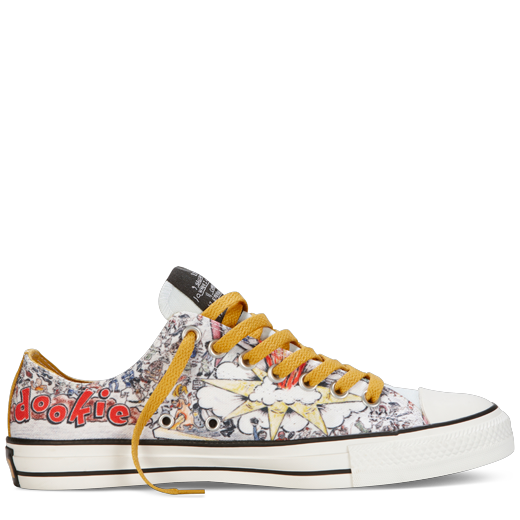 fa1291384168 Green Day Dookie Converse