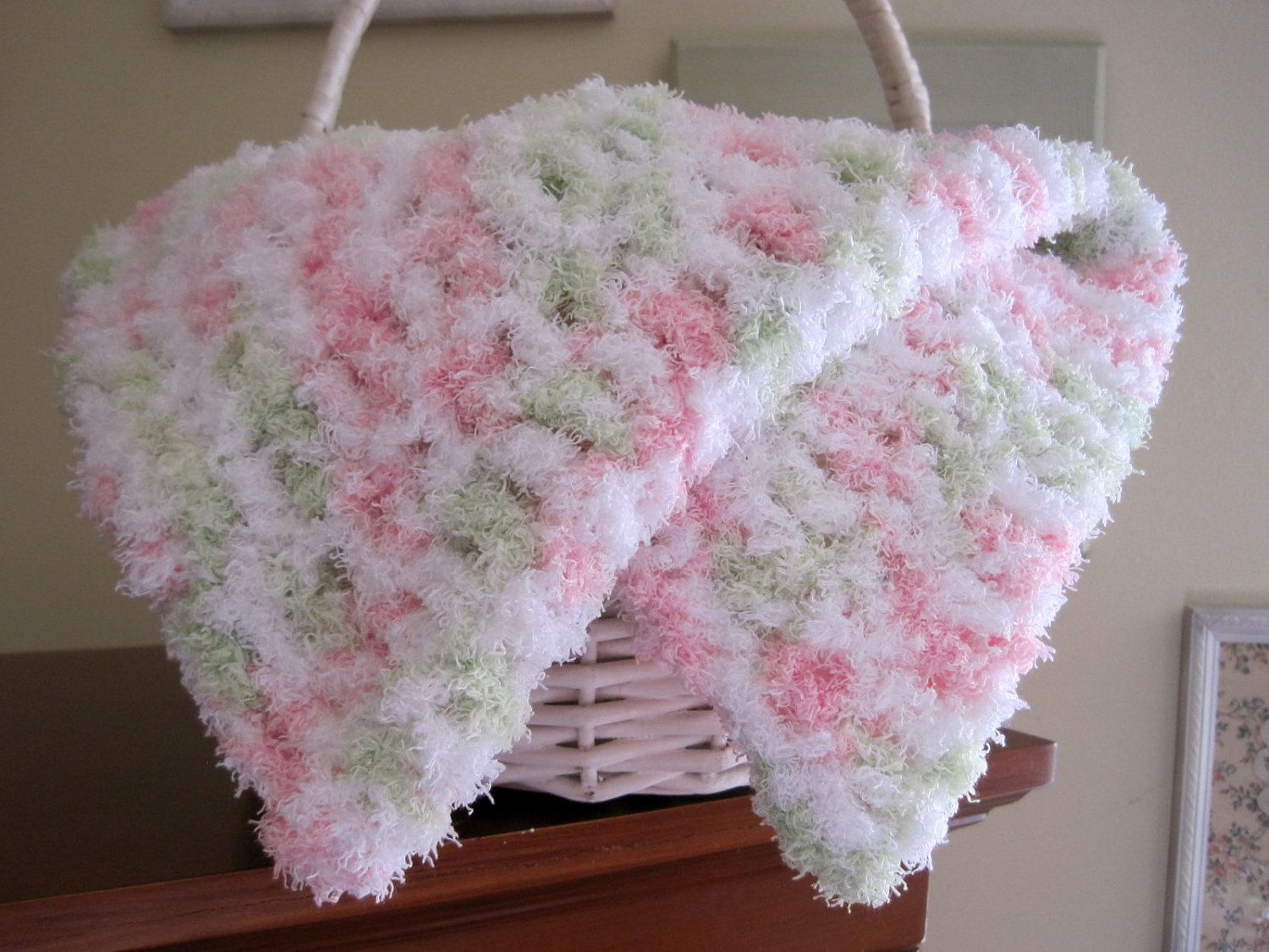Crochets blankets for littlr girls request a custom order and thursdays handmade love week 62 theme baby girl blankets includes links to free crochet patterns bankloansurffo Choice Image