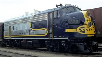 Santa Fe Railway Historical Modeling Society The F Unit Pages Train Tracks Santa Fe Train