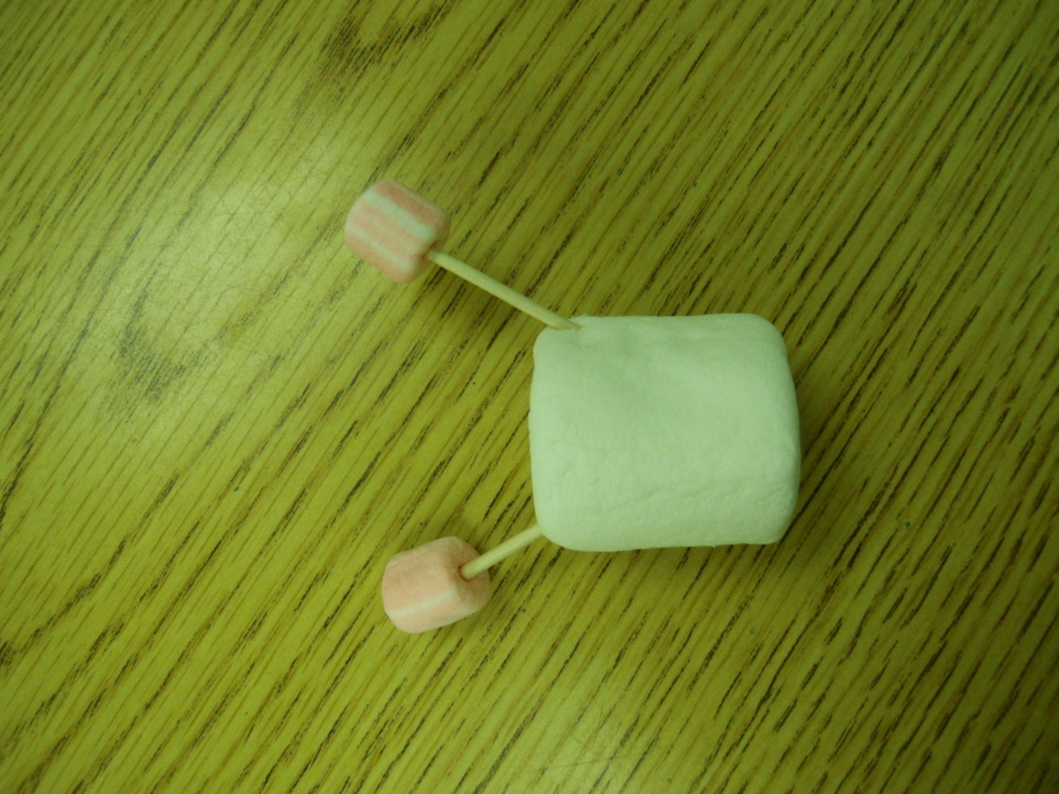 Marshmallow Water Molecule