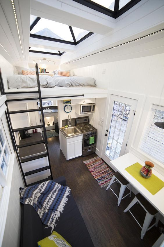 Explore Tiny House Living Tiny House With Loft And More