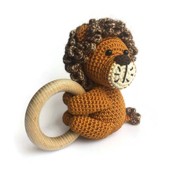 HAAKPATROON rammelaar Leeuw | Voorbeeld gehaakte poppen knuffels ...