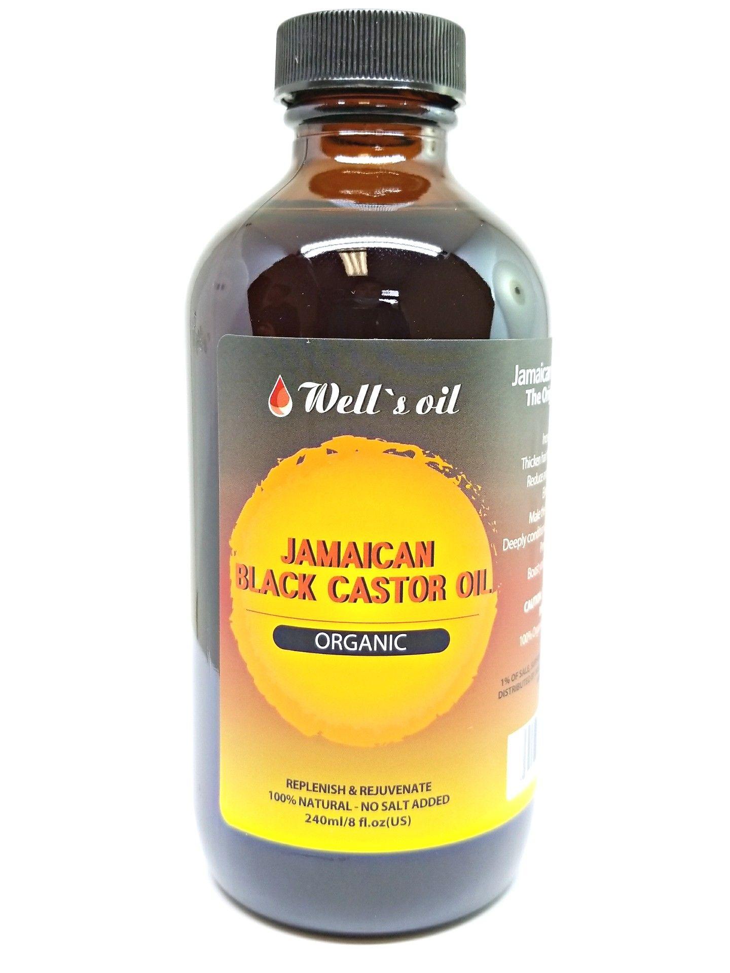 Jamaican black castor wells oil jamaican black castor