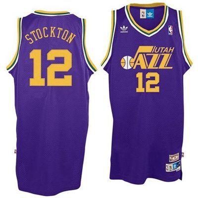 268bf4ad37e0 ... Utah Jazz John Stockton 12 Hardwood Classics Swingman Jersey (Purple)  Mens John Stockton Utah Jazz Mitchell and Ness ...
