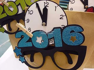 Silvester, Neujahr, Verpackung, Dekoration / New Year's eve, wrapping, decoration