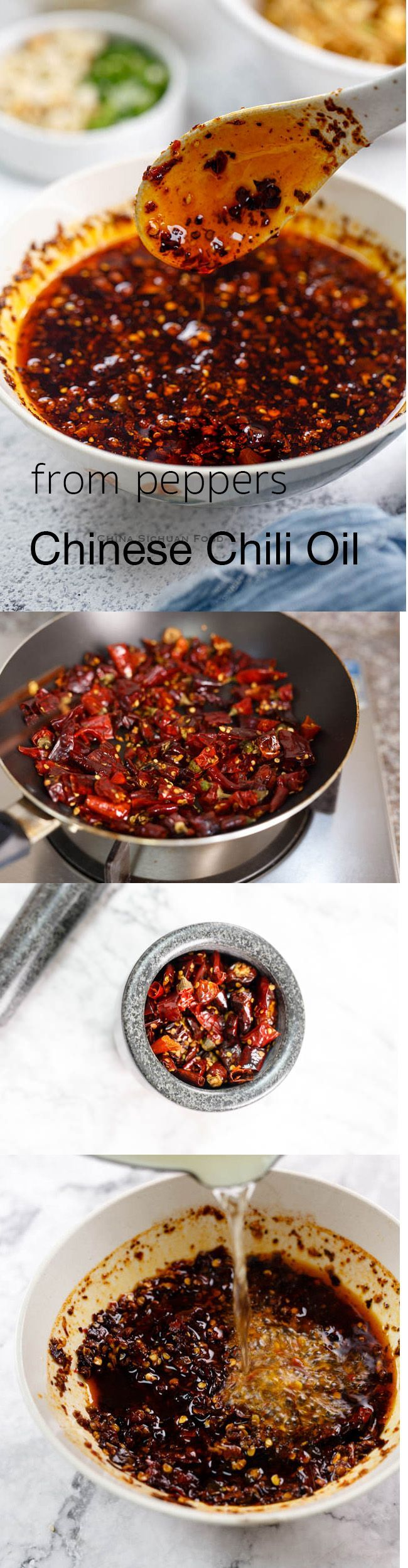 How To Make Chinese Chili Oil From Whole Peppers A Restaurant Style Approach Recipes Tips And Everything Related To Cooking Fo Food Cooking Recipes Recipes