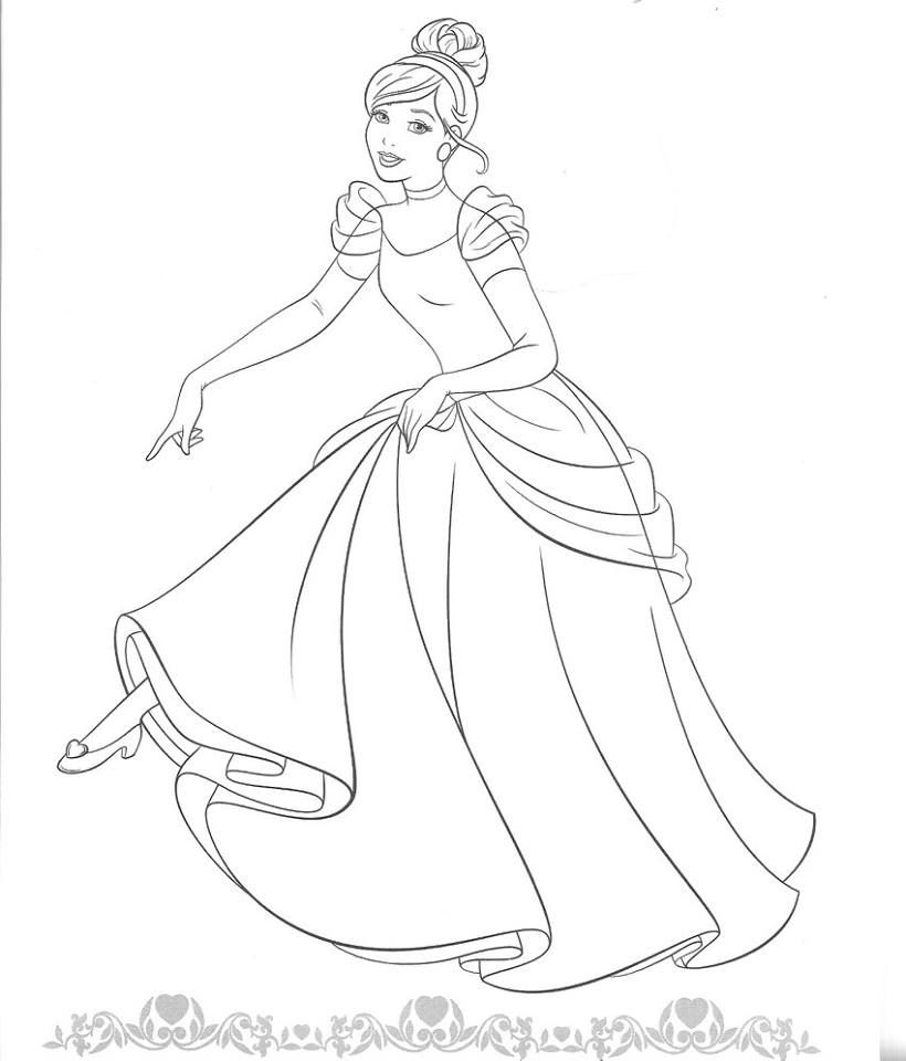 Pin By Maria On Coloring Pages Cinderella Coloring Pages Disney Coloring Pages Coloring Pictures