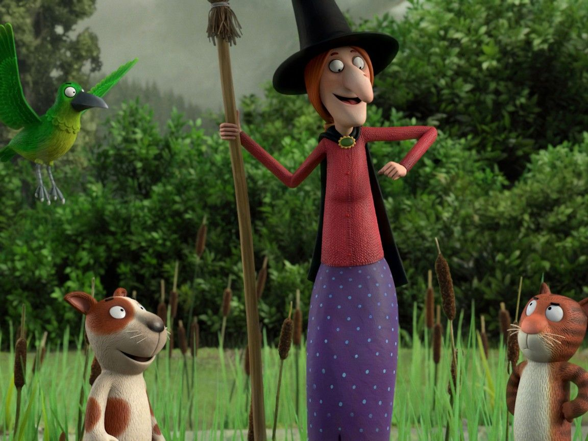 Room on the Broom (2012) Rotten Tomatoes 魔女, 猫