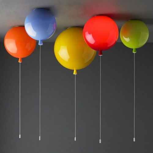 Details About Modern Colorful Balloons Led Chandelier Pendant Lamp Children S Room Lighting Ballon Lumineux Plafond De Ballon Deco Chambre Enfant