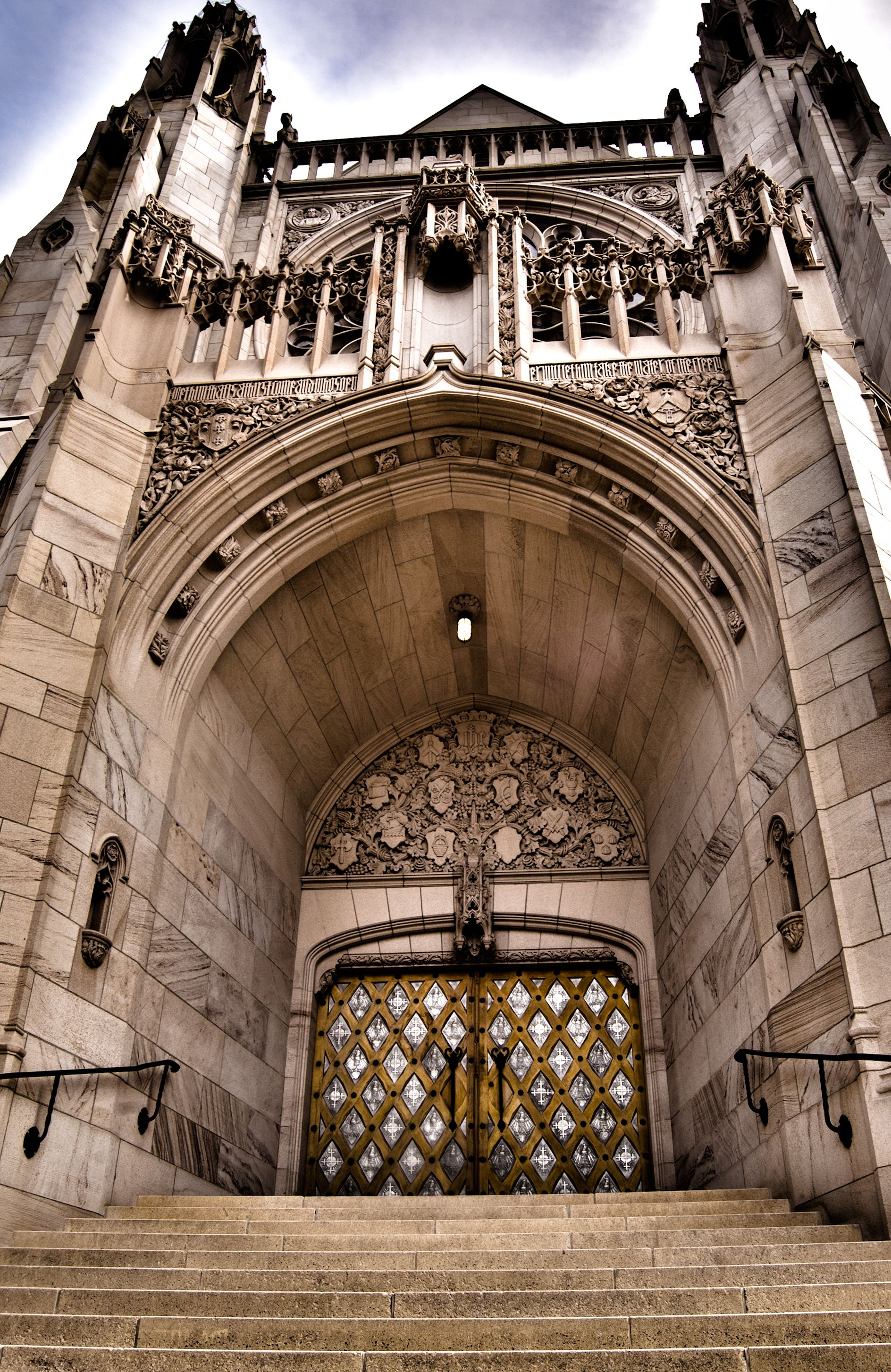 St. John' Cathedral Spokane Wa Doors Amber Malquist