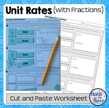 Pin On Rates Worksheets on unit rates