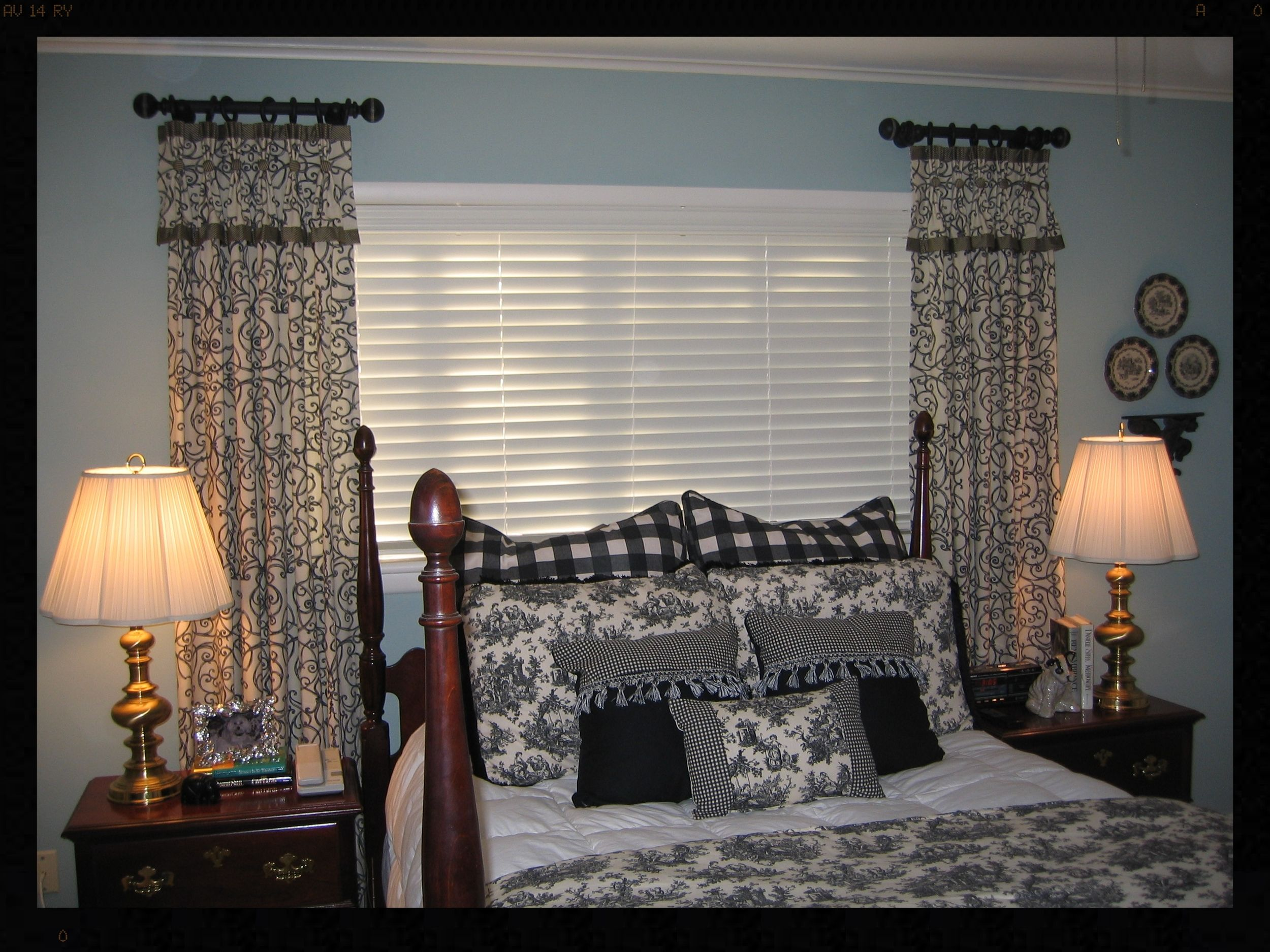 Stationary pinch pleated panels curtain call pinterest rod