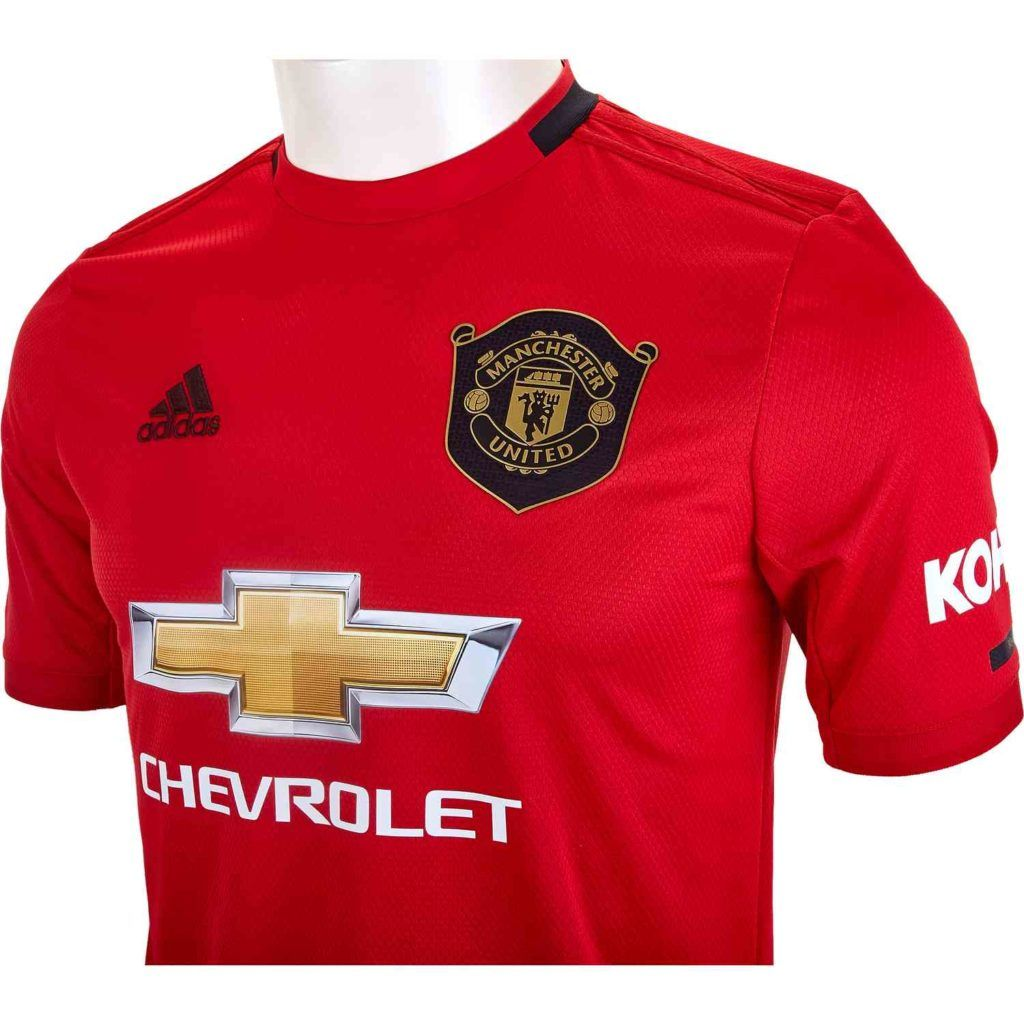 2019 20 Kids Adidas Manchester United Home Jersey Soccerpro In 2020 Manchester United Jersey Manchester