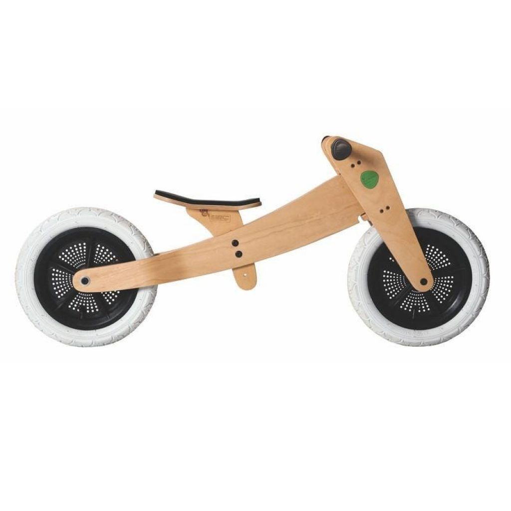 wishbone laufrad dreirad aus holz 3 in 1 bike in natur 12 zoll ab 1 jahr balance bike. Black Bedroom Furniture Sets. Home Design Ideas