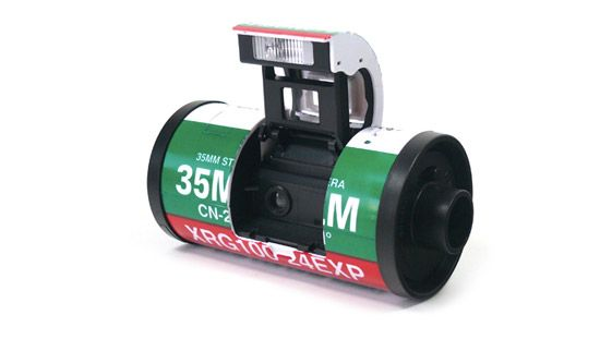 transformer film camera