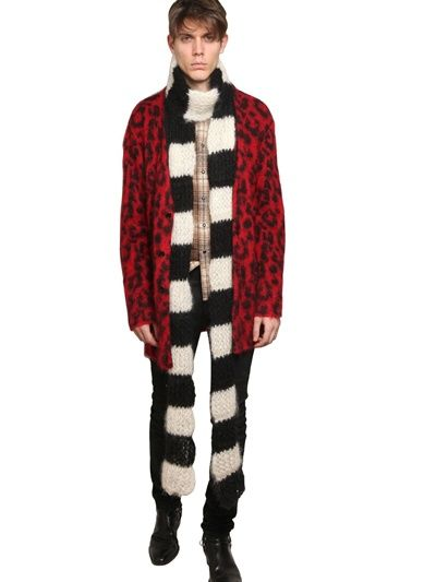 striped scarf Saint Laurent O70C9dZ8Ak