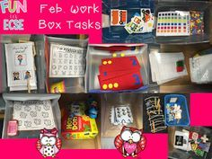 Feb. Work Boxes