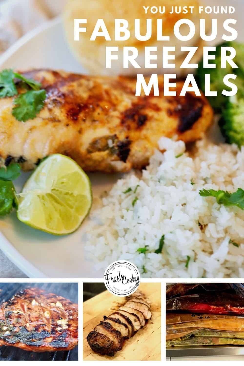 Delicious HEALTHY and EASY FREEZER MEALS! Prep 10 meals in