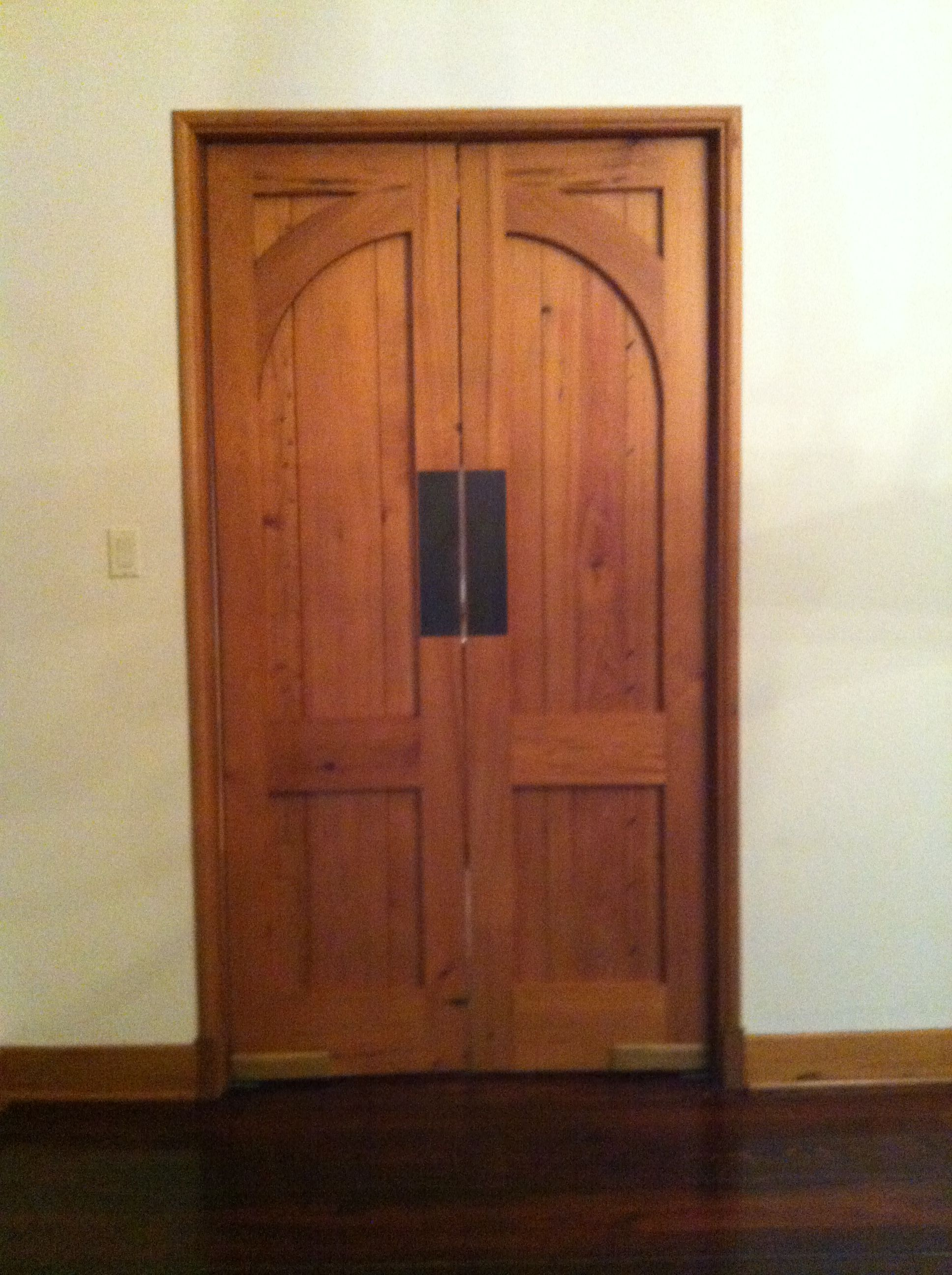 These Are Custom Designed And Fabricated Doors Metal Work