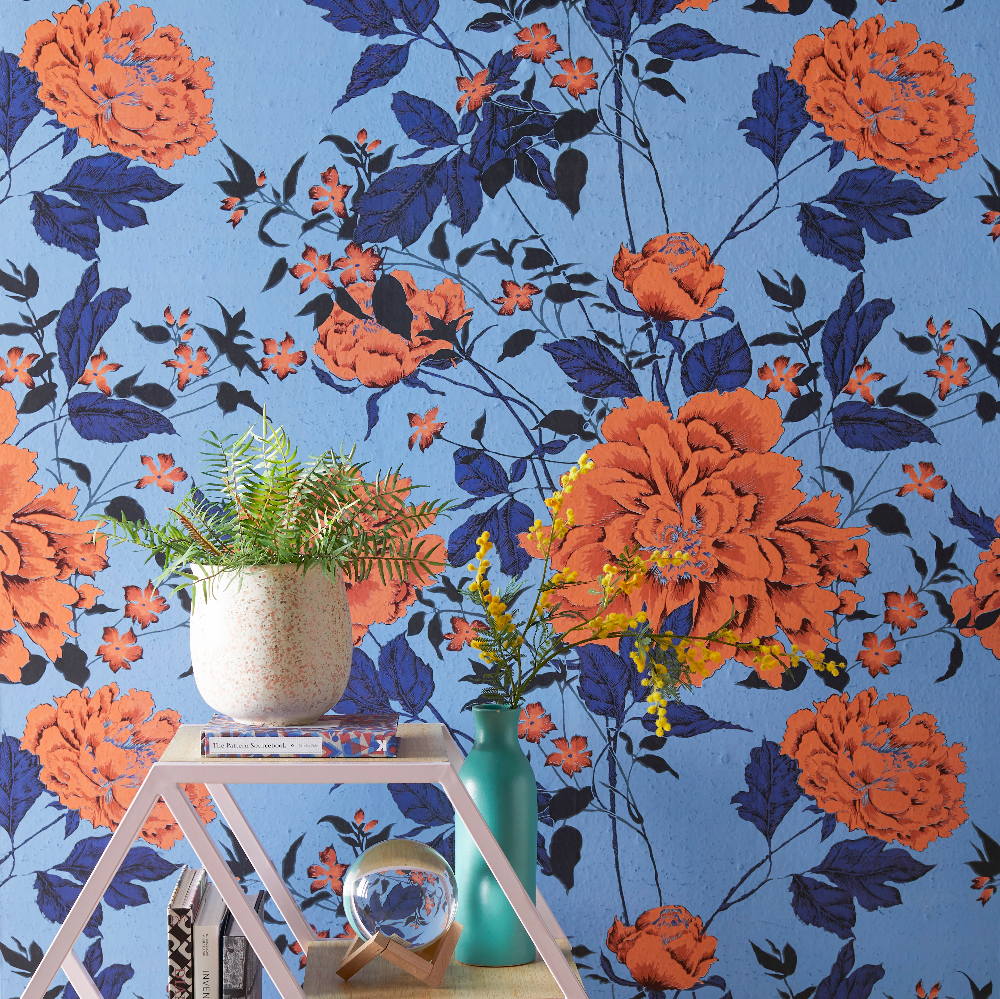Home in 2020 Peel and stick wallpaper, Vintage floral