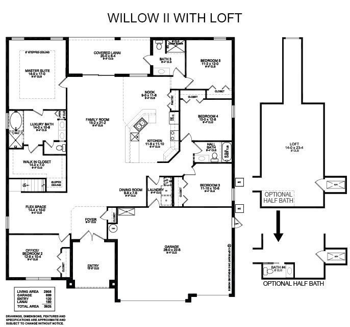 Highland Homes, Loft Plan