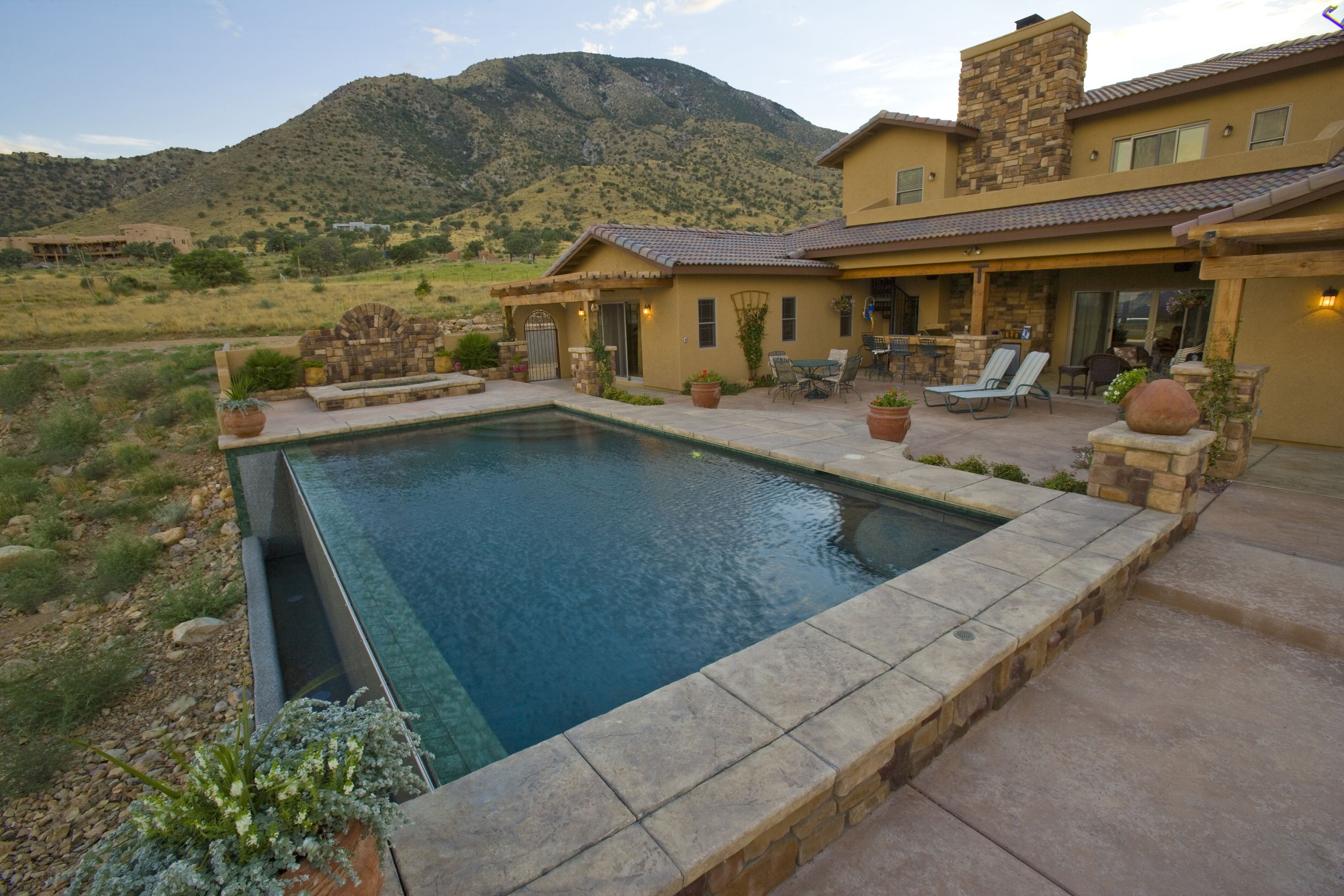 Tradition Pool By Patio Pools And Spas.