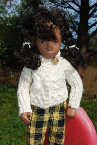 Le gilet irlandais pour poupées, les explications