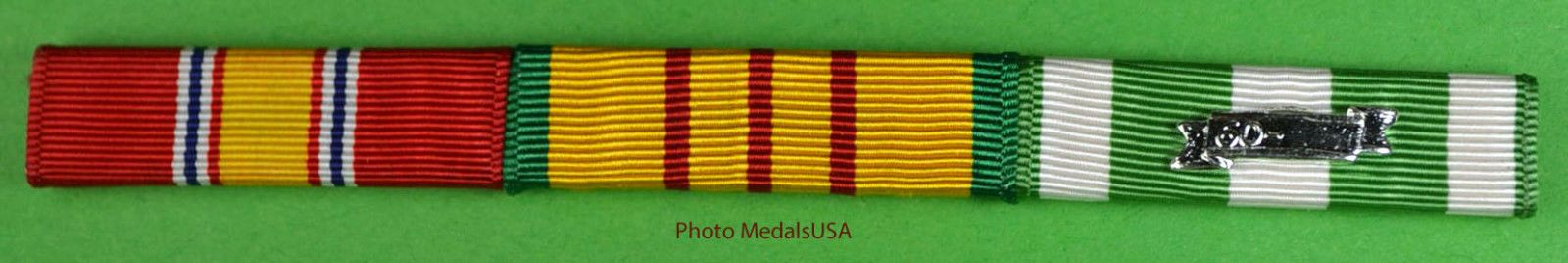 12.95 Vietnam War Ribbon Bar National Defense