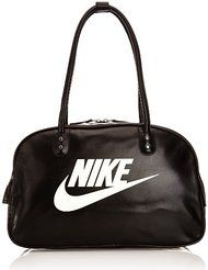 72c596c3ab Nike Heritage SI Shoulder Club - Bolsa unisex, color negro / blanco, talla  única
