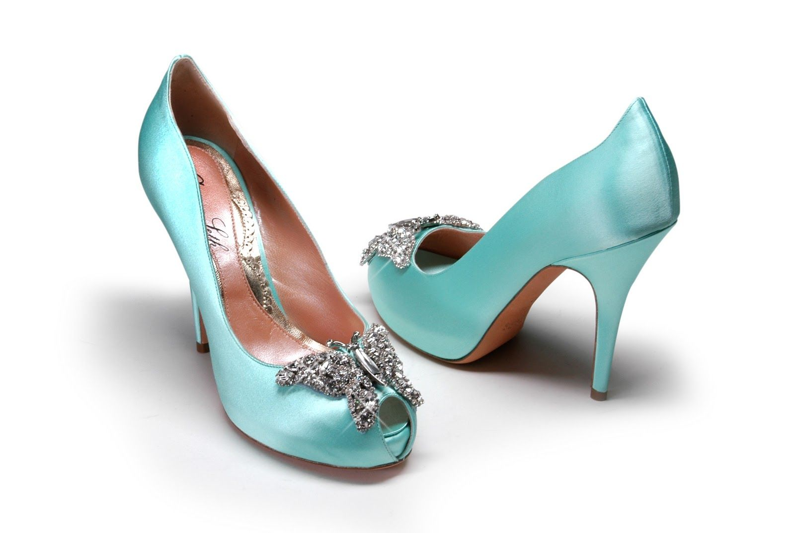 Butterfly Pumps Tiffany Blue Wedding Shoes Tiffany Blue Shoes Wedding Shoes Blue Heels