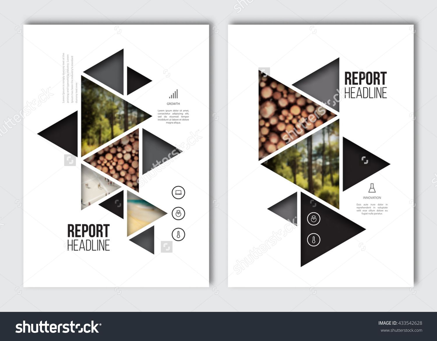 Business brochure design template vector flyer layout for Background for brochure design