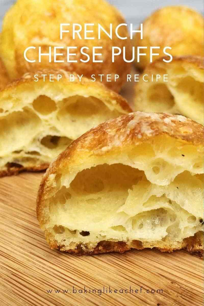 French Gruyere Cheese Puffs (Gougeres)