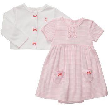 90b8547a6 vestido carters para niña 3 meses | My baby Girl | Moda de bebés ...