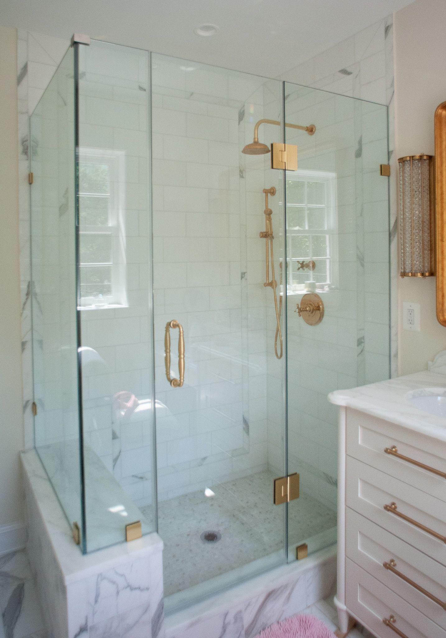 Frameless 90 Degree Glass Shower Enclosure Shower Enclosure Glass Shower Enclosures 90 Degree Glass Shower