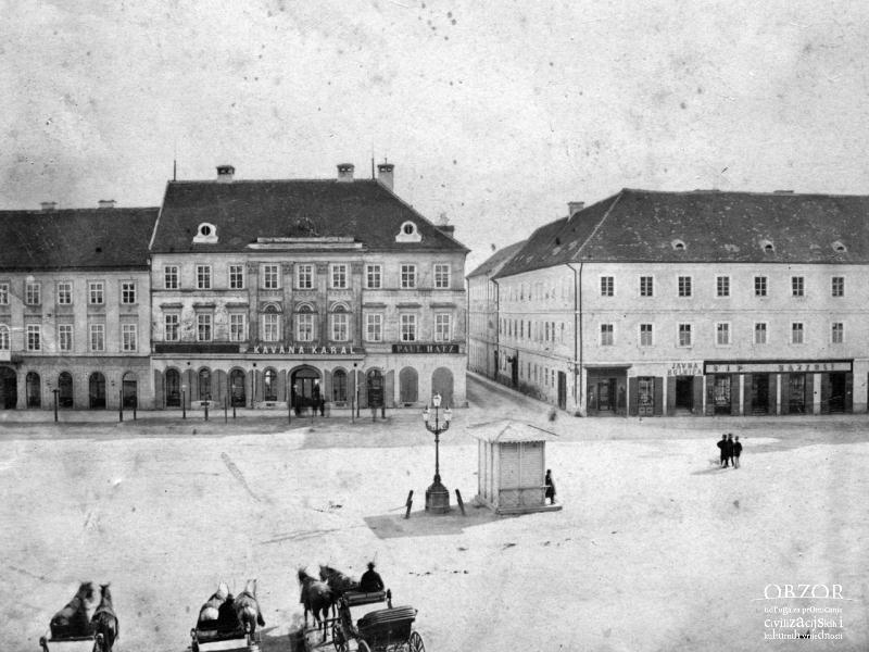 Jelacicev Trg 1870 Zagreb Croatia Landmarks