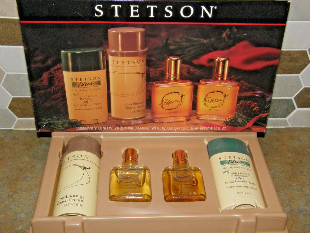 outlet boutique best deals on limited guantity Details about NOS Vintage Mens STETSON Cologne After Shave + ...