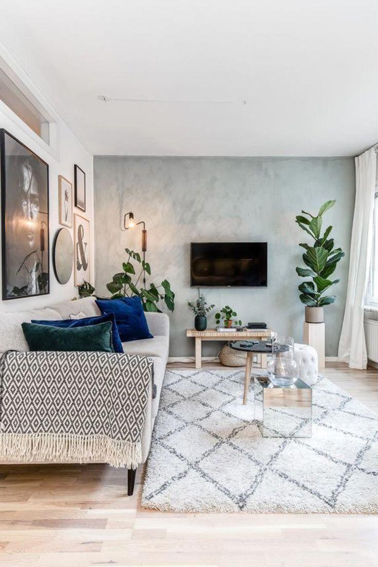 Photo of 51+ idee di soggiorno scandinavo – arredamento moderno bohemien inpsiration #BeachHom …