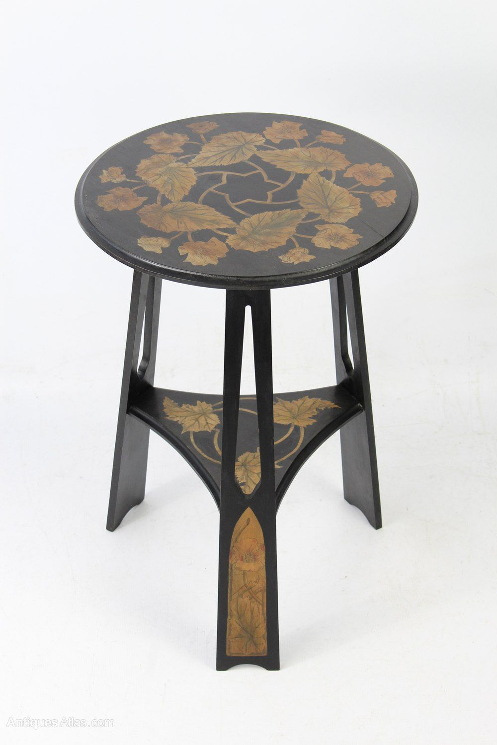Antique Furniture Edwardian Rosewood Marquetry Window/ Coffee Table Edwardian (1901-1910)