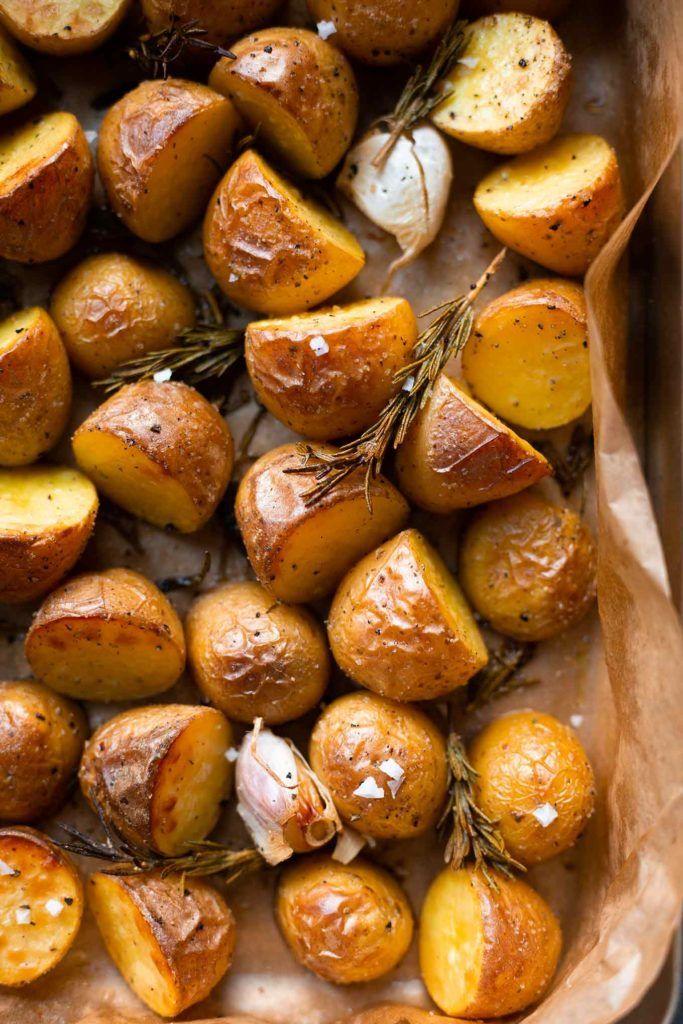 Einfache Rosmarinkartoffeln aus dem Ofen