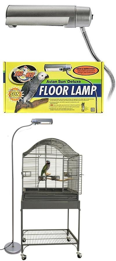 Other bird supplies 3211 zoo med aviansun deluxe floor pet lamp other bird supplies 3211 zoo med aviansun deluxe floor pet lamp afl10 new free shipping aloadofball Images