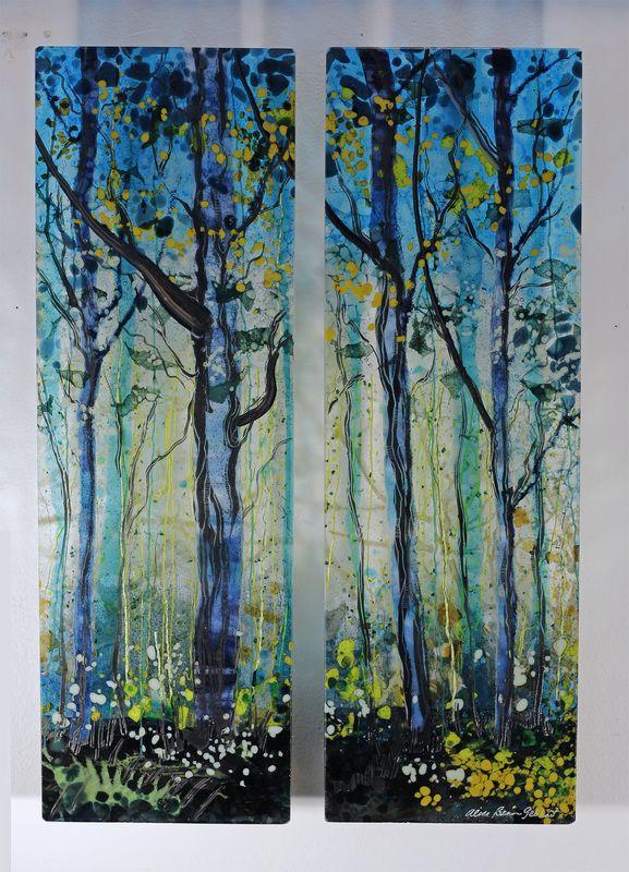 Alice Benvie Gebhart The Subject Of Trees Has Been Found In Art