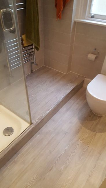 Bathroom & Room | Amtico flooring, Flooring, Bathroom