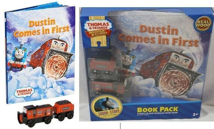 Thomas & Friends Wooden Railway DUSTIN COMES IN FIRST HB