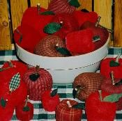 Apples Craft Pattern - via @Craftsy