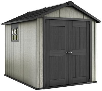 Buy Keter Apex Paintable Plastic Garden Shed 7 x 9ft at Argosco