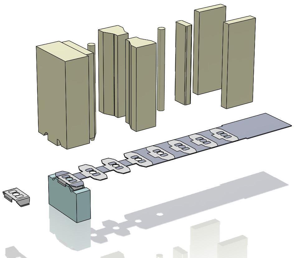 Progressive Die Design Strip Layout