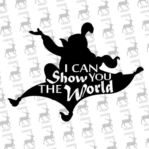 Jasmine Dream Disney Aladdin Digital File Svg Dxf Eps Etsy